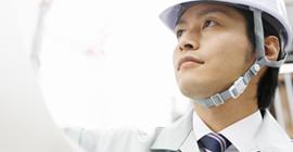 当社は技術教育を受けた自社施工スタッフがいますので確実で迅速な施工を実現します。